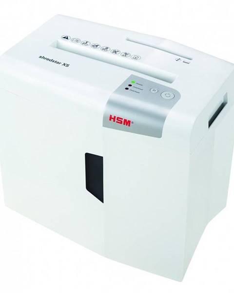 HSM Skartovač HSM ShredStar X5, 5 listů, 18 l, P4