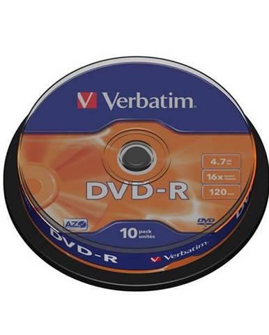 Disk Verbatim DVD-R 4,7GB, 16x, 10cake