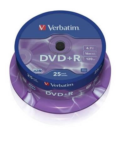 Disk Verbatim DVD+R 4,7GB, 16x, 25cake