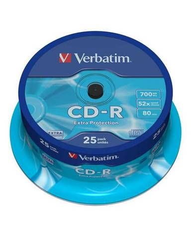 Disk Verbatim Extra Protection CD-R DL 700MB/80min, 52x, 25-cake