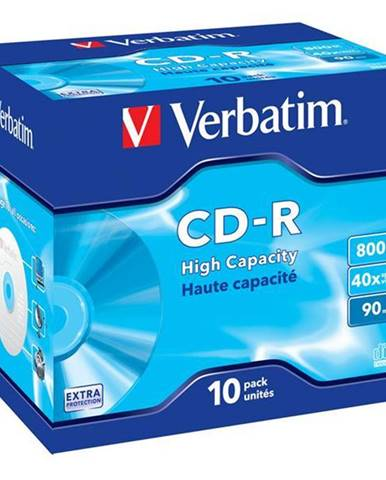 Disk Verbatim Extra Protection CD-R DL 800MB/90min, 40x, jewel box,