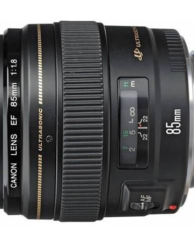 Objektív Canon EF 85 mm f/1.8 USM čierny