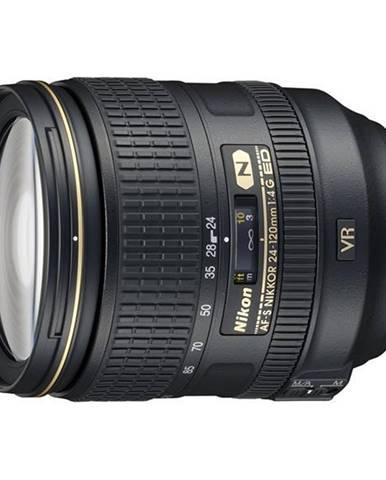 Objektív Nikon Nikkor 24-120 mm F4G ED AF-S VR čierny