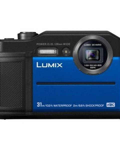 Panasonic Digitálny fotoaparát Panasonic Lumix DC-FT7 modr