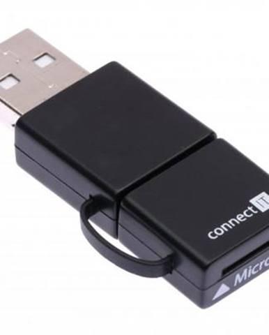 Čítačka pamäťových kariet Connect IT Smart OTG MicroSD/HC