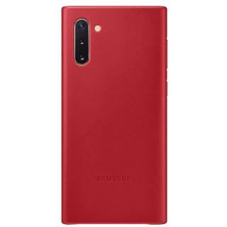 Kryt na mobil Samsung Leather Cover na Galaxy Note10 červený
