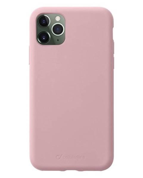 CellularLine Kryt na mobil CellularLine Sensation na Apple iPhone 11 Pro ružový