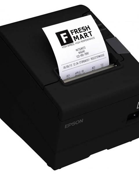 Epson Tlačiareň pokladničná Epson TM-T88V čierna pokladní, termální,