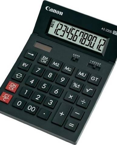 Kalkulačka Canon AS-1200 čierna