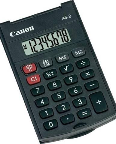 Kalkulačka Canon AS-8 čierna