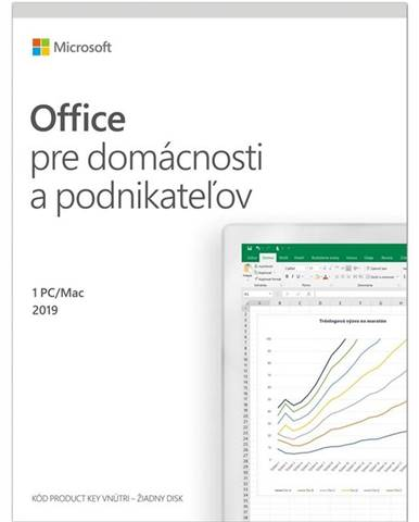 Software  Microsoft Office 2019 pre domácnosti a podnikatelov SK