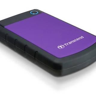 Externý pevný disk Transcend StoreJet 25H3P 1TB čierny/fialový