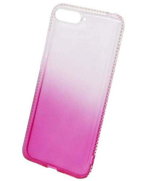 Beeyo Kryt na mobil Beeyo Diamond Frame na Honor 7A ružový