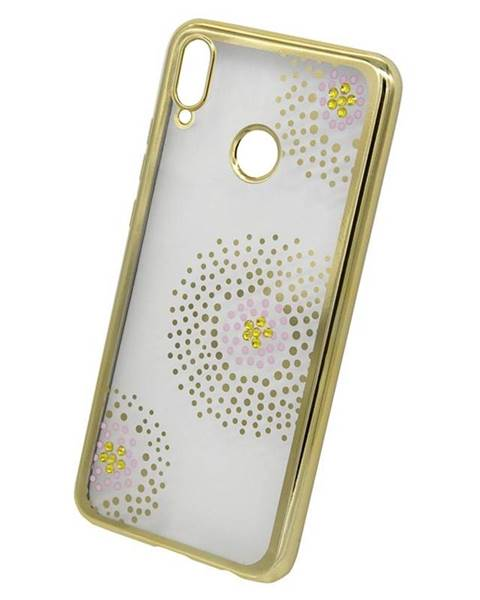 Beeyo Kryt na mobil Beeyo Flower Dots na Huawei Nova 3 zlatý