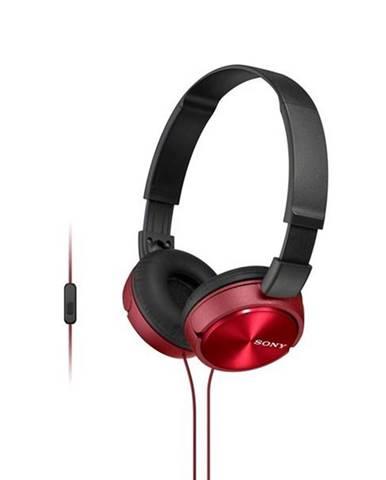 Slúchadlá Sony Mdrzx310apr.CE7 červená