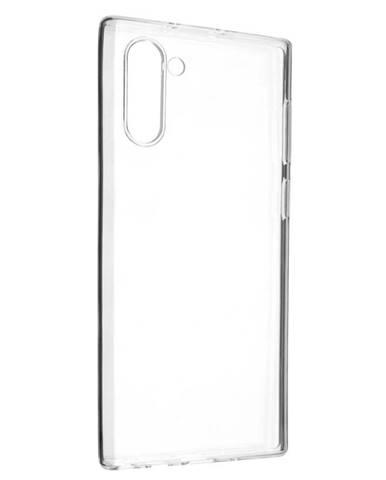 Kryt na mobil Fixed Skin na Samsung Galaxy Note10 priehľadný