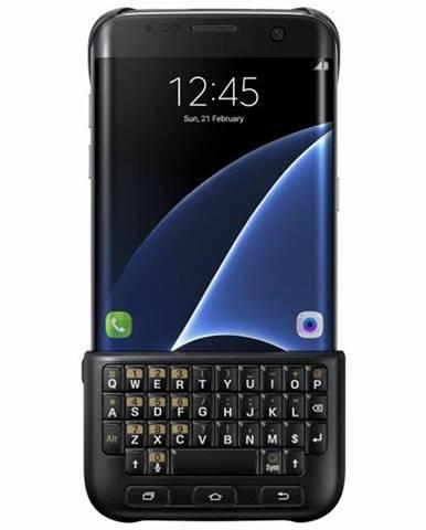 Kryt na mobil Samsung s klávesnicí na Galaxy S7 Edge čierny