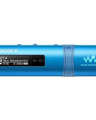 MP3 prehrávač Sony NWZ-B183FL modr