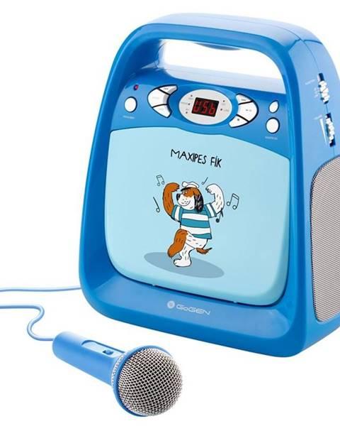 GoGEN CD prehrávač Gogen Maxipes Fík Maxi Karaoke modr