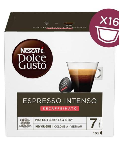 Nescafé NescafÉ Dolce Gusto® Espresso Intenso Decaffeinato kávové kapsule