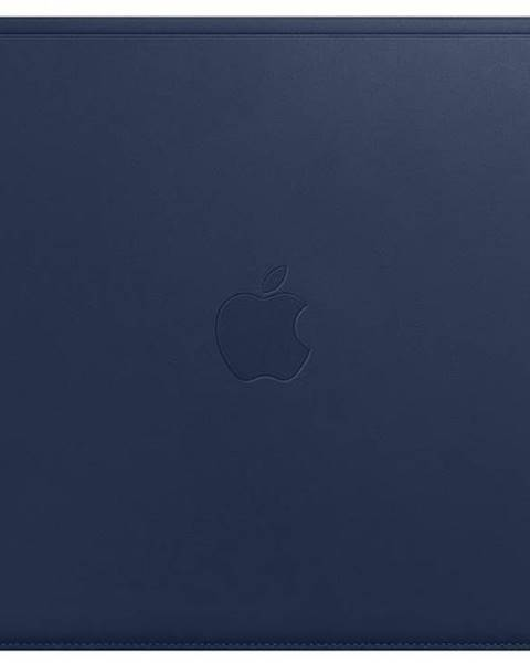 Apple Púzdro Apple Leather Sleeve pre MacBook 12 - polnočno modrý