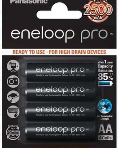 Batéria nabíjacie Panasonic Eneloop Pro AA, HR06, 2500mAh, Ni-MH,