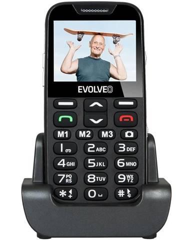 Mobilný telefón Evolveo Evolveo EasyPhone XD pro seniory čierny