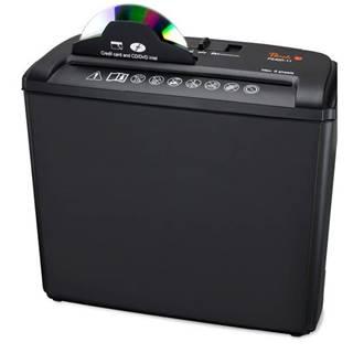 Skartovač Peach PS400-11, 5 listů/ 7L/ CD/ podélný řez