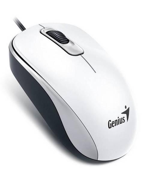 Genius Myš  Genius DX-110 biela / optická / 3 tlačítka / 1000dpi