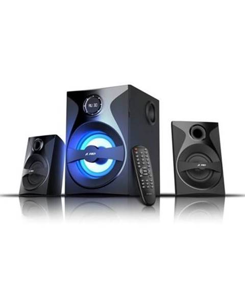 Reproduktory Fenda F&D F380X 2.1, bluetooth, rádio, USB, SD,