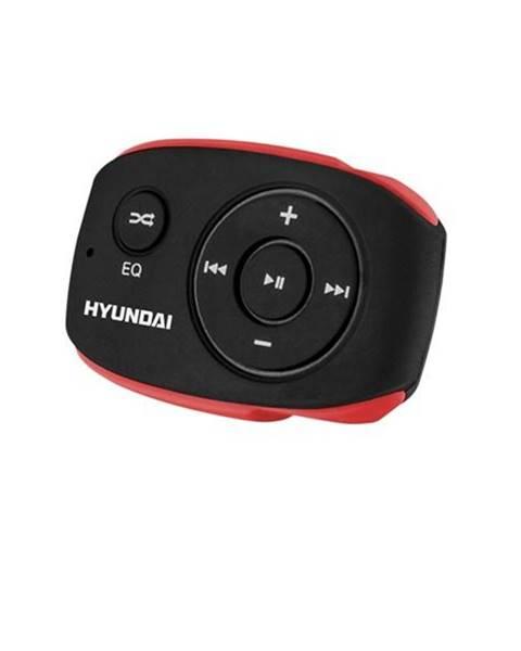 Hyundai MP3 prehrávač Hyundai MP 312 GB8 BR čierny/červen