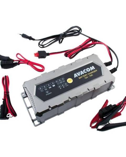 Avacom Nabíjačka Avacom 12V 10A pro olověné AGM/GEL akumulátory