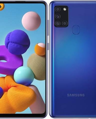 Mobilný telefón Samsung Galaxy A21s 32 GB modrý