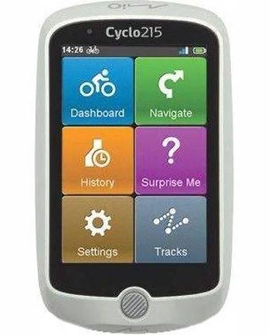 Navigačný systém GPS Mio Cyclo 215 HC biela