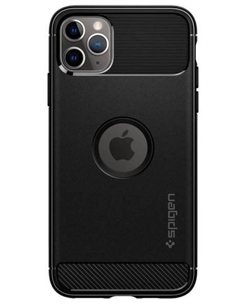 Spigen Kryt na mobil Spigen Rugged Armor na Apple iPhone 11 na Max čierny
