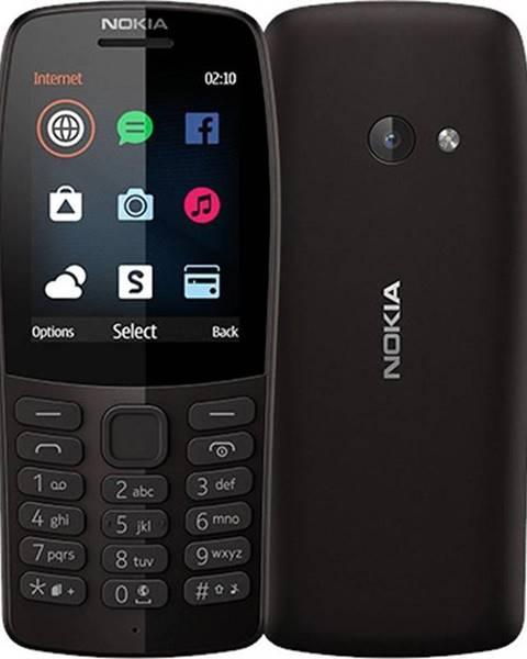 Nokia Mobilný telefón Nokia 210 Dual SIM čierny