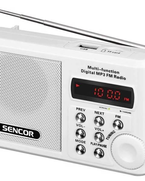 Sencor Rádioprijímač Sencor SRD 215 W biely