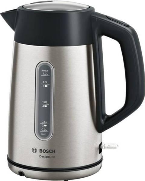 Bosch Rýchlovarná kanvica Bosch DesignLine Twk4p440 čierna/nerez