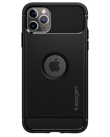 Kryt na mobil Spigen Rugged Armor na Apple iPhone 11 na Max čierny