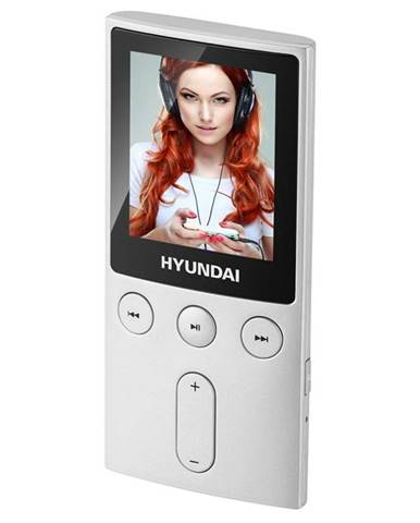 MP3 prehrávač Hyundai MPC 501 GB8 FM S strieborn