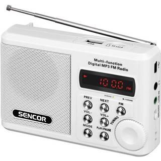 Rádioprijímač Sencor SRD 215 W biely