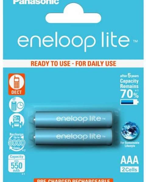 Panasonic Batéria nabíjacie Panasonic Eneloop Lite AAA, HR03, 550mAh, Ni-MH,