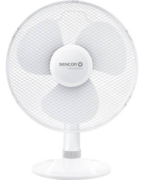 Sencor Ventilátor stolový Sencor SFE 4037WH biely