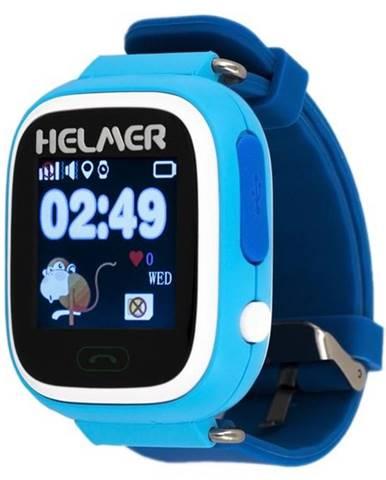 Inteligentné hodinky Helmer LK 703 dětské modré