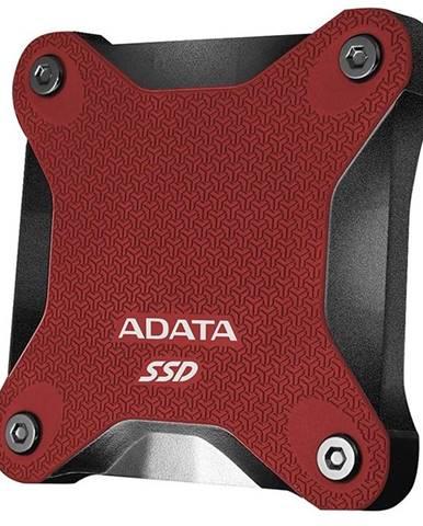 SSD externý Adata SD600Q 480GB červený