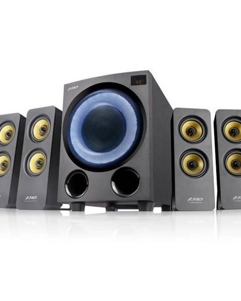 Fenda F&D Reproduktory Fenda F&D F7700X, 4.1, 80W, RGB, BT5.0, FM rádio, USB,