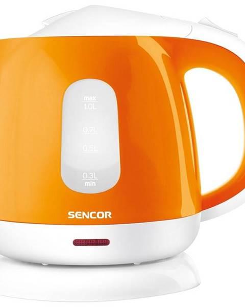 Sencor Rýchlovarná kanvica Sencor SWK 1013OR oranžov