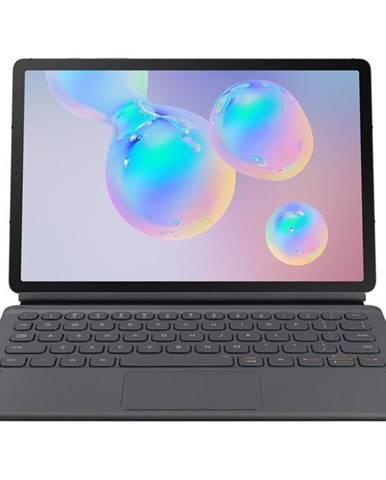 Púzdro s klávesnicou na tablet Samsung Galaxy Tab S6 sivé