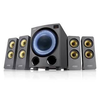 Reproduktory Fenda F&D F7700X, 4.1, 80W, RGB, BT5.0, FM rádio, USB,