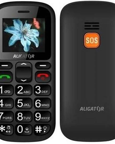 Aligator Mobilný telefón Aligator A321 Senior Dual SIM čierny/sivý